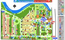 Pläne Camping Seite und Residenz Seite
